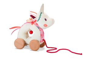 Lilliputiens – jednorožec Louise – ťahacia hračka