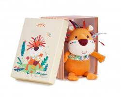 Lilliputiens - lev Jack - hračka na mazlení