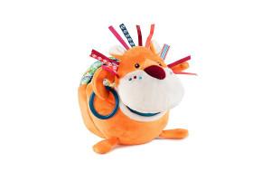 Lilliputiens - lev Jack, objevitel - plyšová hračka s aktivitami