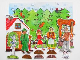 Marionetino - Bábková pohádka bez tyčiek - Červená karkulka