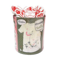 Stampo textil - Motýlia záhrada - 28 ks