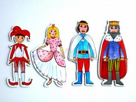 Marionetino -  Bábkový balíček bez tyčiek - Kráľovská sada I
