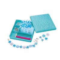 Výroba doplnkov zo zmršťovacej fólie – modrá