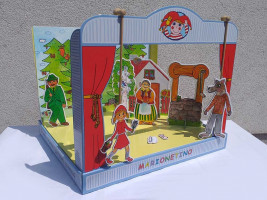 Marionetino – Bábkové divadlo – 3 rozprávky – Červená Čiapočka, Perníková chalúpka, O kozliatkach