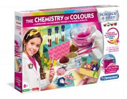 Detské laboratórium – Súprava farebnej chémie