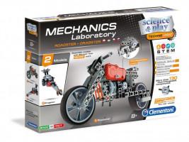 Mechanická laboratoř - Motorka a formule - 130 dílků
