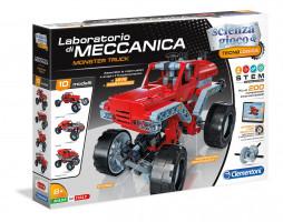 Mechanické laboratórium – Monster truck – 10 modelov – 200 dielikov