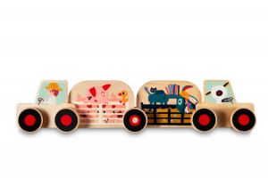 Lilliputiens – Montážna súprava – traktor