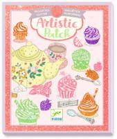 Umělecké koláže - Cukrárna