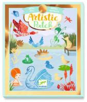 Umělecké koláže - Zábava u vody