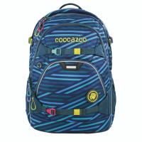 Školský ruksak coocazoo ScaleRale, Zebra Stripe Blue, certifikát AGR