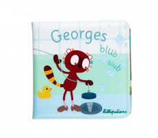 Lilliputiens - lemur Georges - knížka do vody