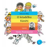 O letadélku Káněti - audiokniha na CD
