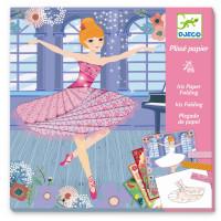 Výtvarná hra - Tanečnice - iris folding - skládání papíru