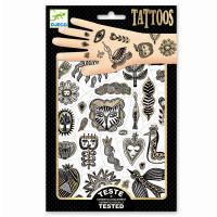 Tetování - Zlaté odlesky
