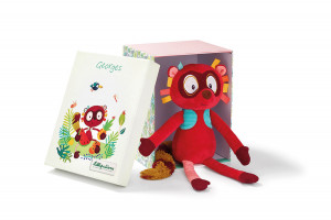 Lilliputiens - lemur Georges - plyšová hračka