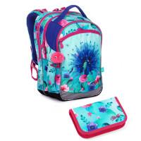 Školní batoh a penál Topgal COCO 20003 G