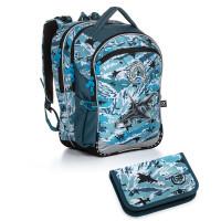 Školní batoh a penál Topgal COCO 20016 B
