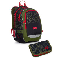 Školní batoh a penál Topgal CODA 20020 B
