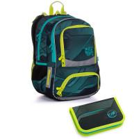 Školský batoh a peračník Topgal NIKI 20022 B