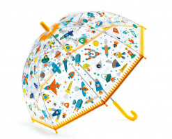 Dětský deštník - vesmír