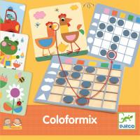 Coloformix - rozpoznávání tvarů a barev