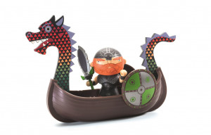 Arty Toys - pirát Drack s vikingskou dračí lodí