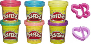 Play-Doh - Trblietavá sada se 2 vykrajovadlami