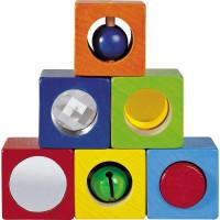 Smyslové kostky - 6 ks