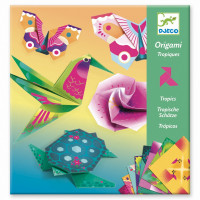 Origami - Tropická zvířata