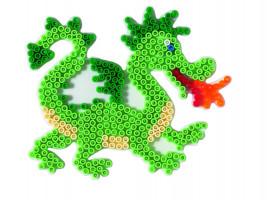 Hama Midi - podložka drak