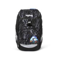 Školní batoh Ergobag prime - Black 2020 - reflexní