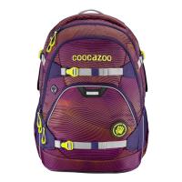 Školní batoh coocazoo ScaleRale, Soniclights Purple, certifikát AGR