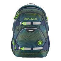 Školní batoh coocazoo ScaleRale, Sonicl.Green, certifikát AGR