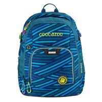 Školní batoh coocazoo RayDay, Zebra Stripe Blue