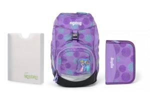Školní set Ergobag prime Frozen 2020 - batoh + penál + desky