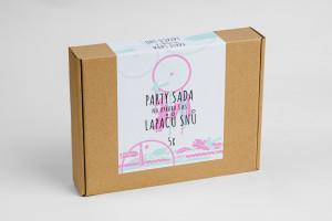 Pikle - Party sada na výrobu 5 ks Lapačů snů - růžová, mint