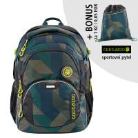 Školní batoh Coocazoo JobJobber2, Polygon Bric + sportovní pytel za 1 Kč