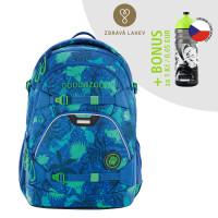 Školní batoh Coocazoo ScaleRale, Tropical Blue + lahev za 1 Kč