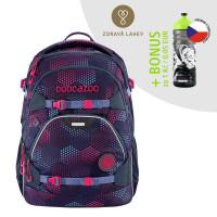 Školní batoh Coocazoo ScaleRale, Purple Illusion  + lahev za 1 Kč