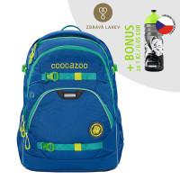 Školní batoh coocazoo ScaleRale, Waveman + lahev za 1 Kč