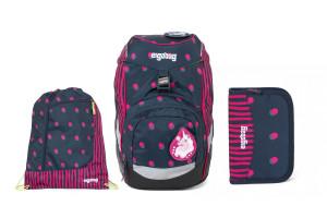 Školní set Ergobag prime Confetti 2020 -batoh + penál + sportovní pytel