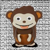 Affenzahn batôžtek – Opica Affe