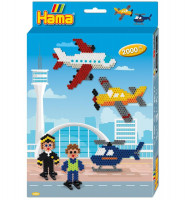 Hama midi – Darčeková súprava – Letisko – 2000 ks