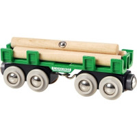 Brio - Nákladný vagón s kládami dreva