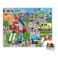 Puzzle – Mesto – 36 ks