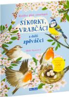 Sýkorky, vrabčáci a další zpěváčci - samolepková knížka