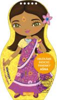 Oblékáme indické panenky Ašna