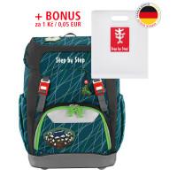Školní batoh GRADE Step by Step Pavouk + desky na sešity za 1 Kč