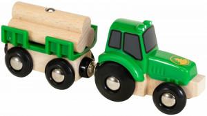 Brio – Traktor s prívesom a nákladom